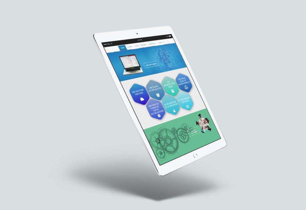 affichage tablette
