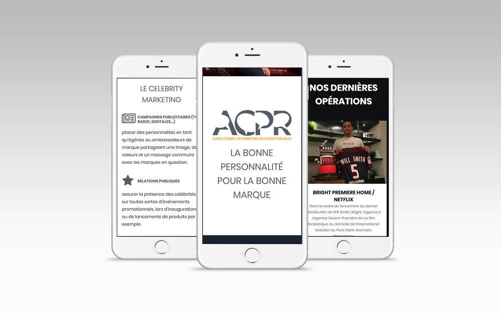 affichage mobile