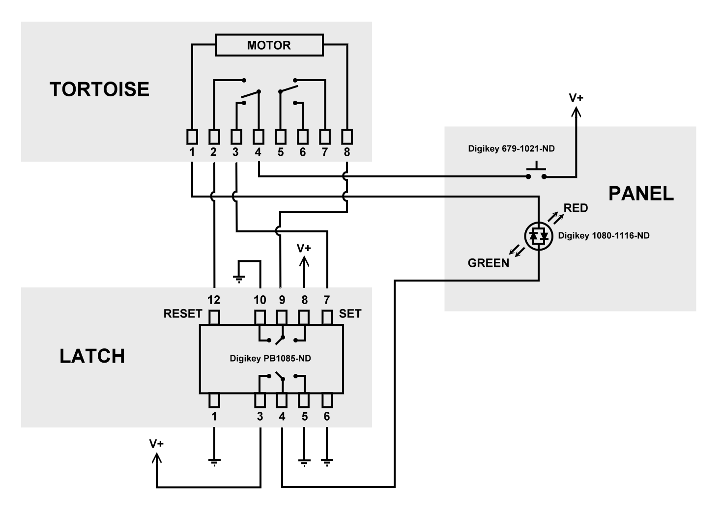 Tortoise Wiring Diagram For Controls