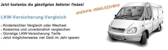 Lieferwagen Versicherung Vergleich