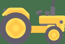 Landwirtschaftliche Zugmaschinen grünes Kennzeichen