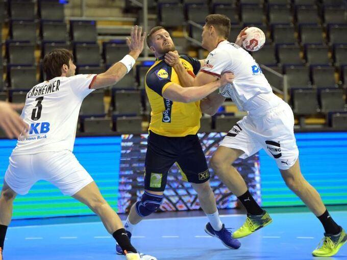 https www lkz de sport artikel remis gegen schweden handballer wahren olympia chance arid 628688 html