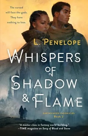 Review: Whispers of Shadow & Flame – L. Penelope