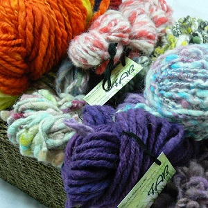 fund raising with fiber arts