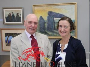 Frank celebrates 90th with art exhibition