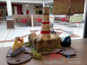 Yarnbombers give Llanelli a knitted seascape surprise