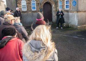 Blue plaque honour for man who forged town's copperworks