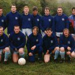 Llanrhystud F.C. early team photo