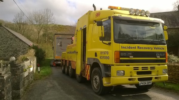 AAS Incident Recovery Vehicle