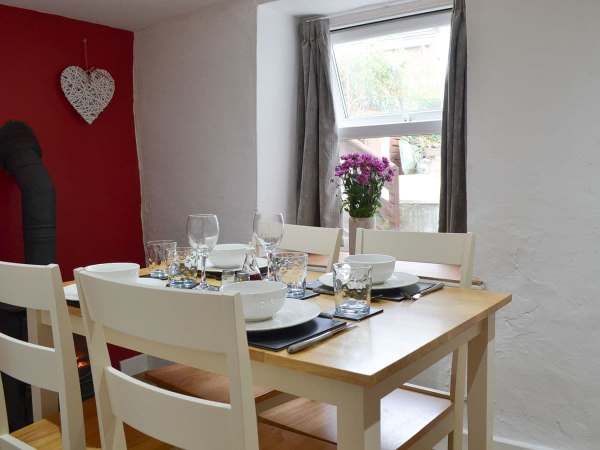Glanyrafon holiday cottage, centrally located in the village of Llanrhystud