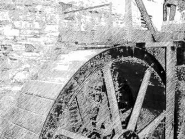 Felin Ganol corn mill Llanrhystud Ceredigion