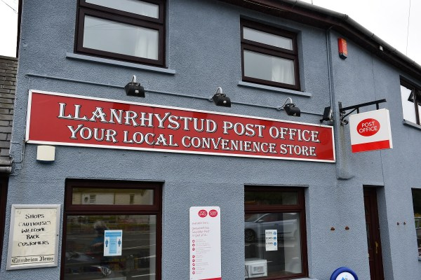 Llanrhystud Post Office
