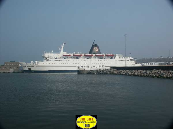 The Ferry from Denmark via the Shetland Island to Faroe