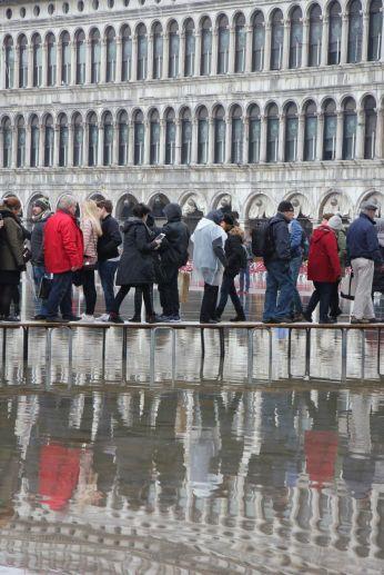 Fenómeno de acqua alta: organizar bien tu viaje a Venecia