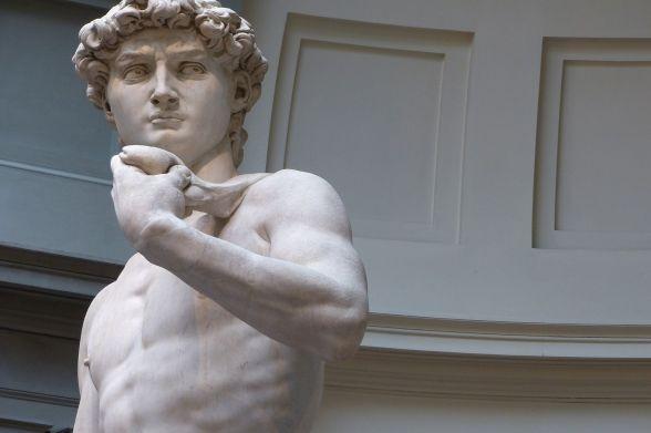 David de Miguel Ángel en Florencia