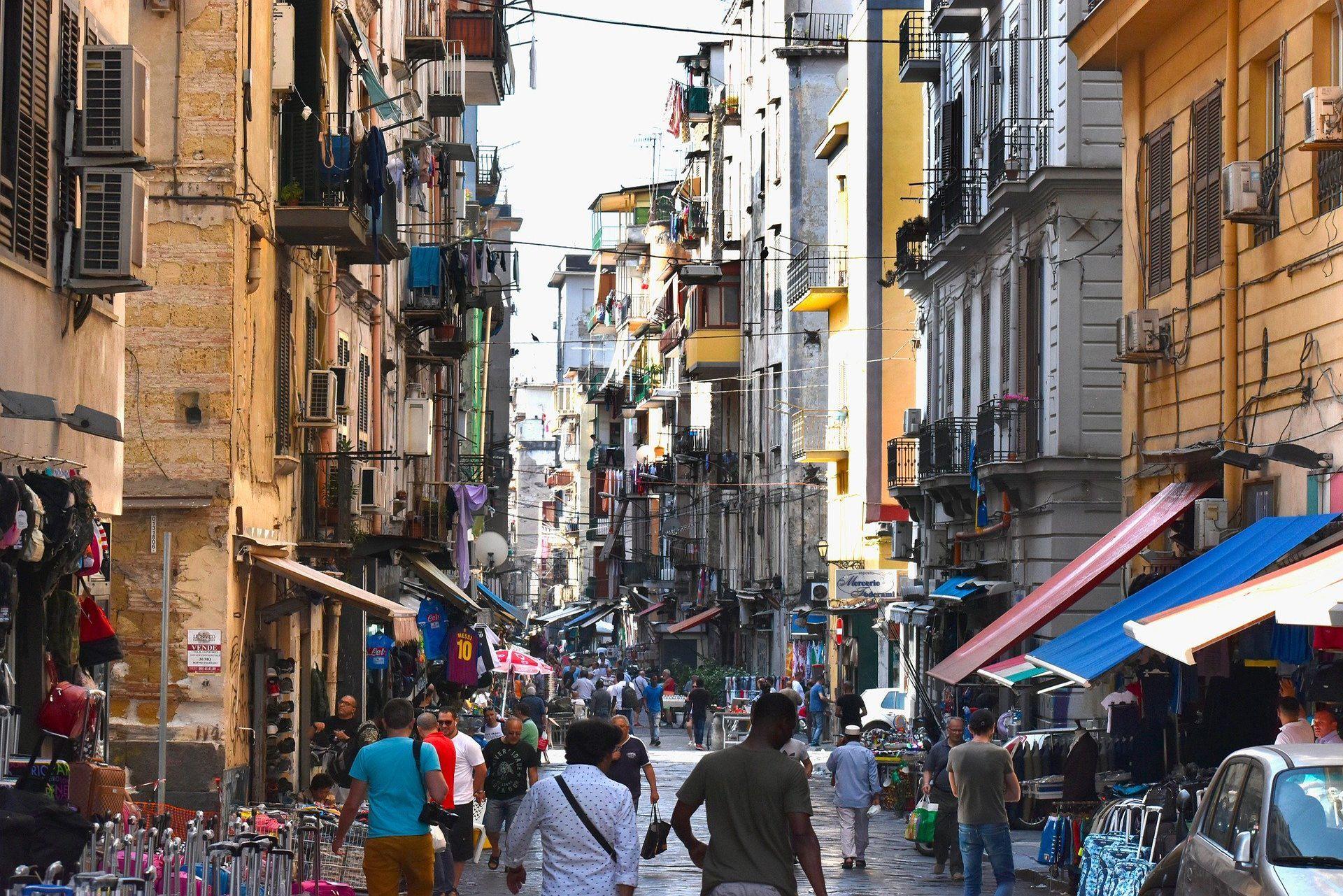 Qué ver en Nápoles: Spaccanapoli
