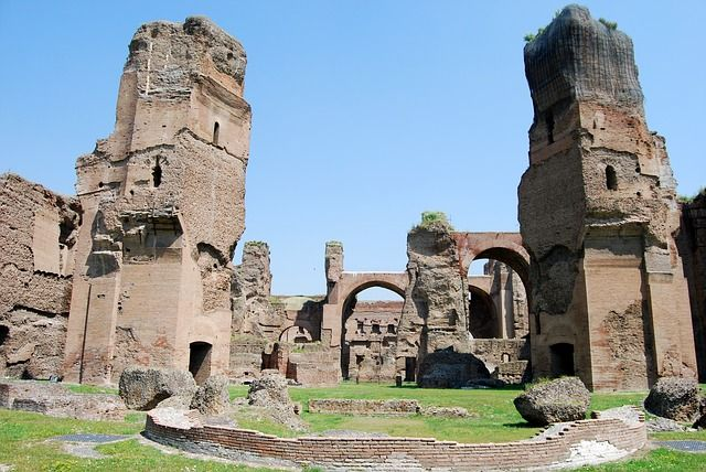 ver termas de Caracalla en Roma