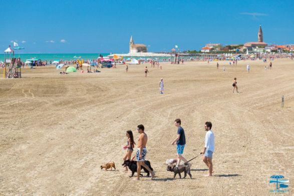 mejores playas para perros en Italia: bau beach