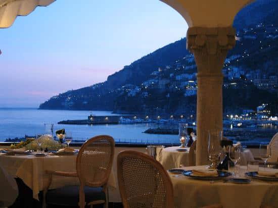 Donde comer en Amalfi: restaurante Eolo