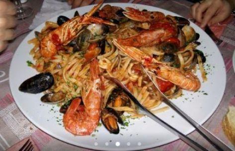 Comida de Amalfi: scialatielli