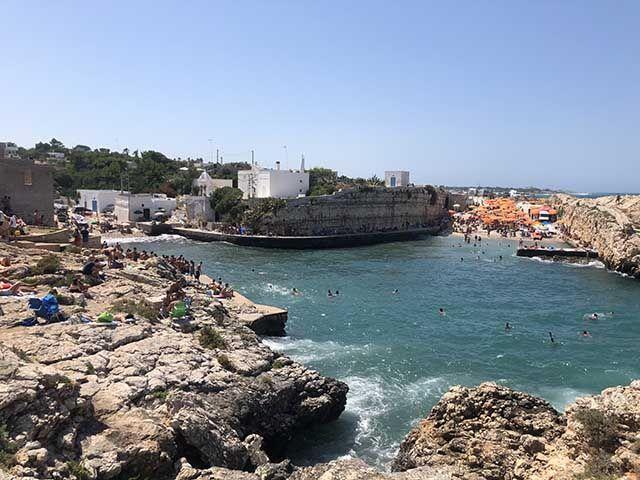 Playas de Polignano a Mare cerca del centro