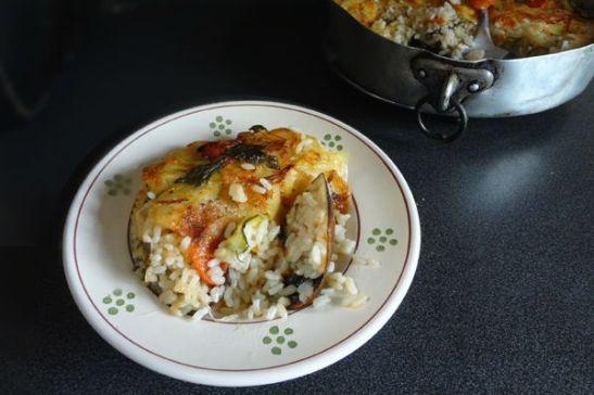 que comer en Bari: un plato de tiella