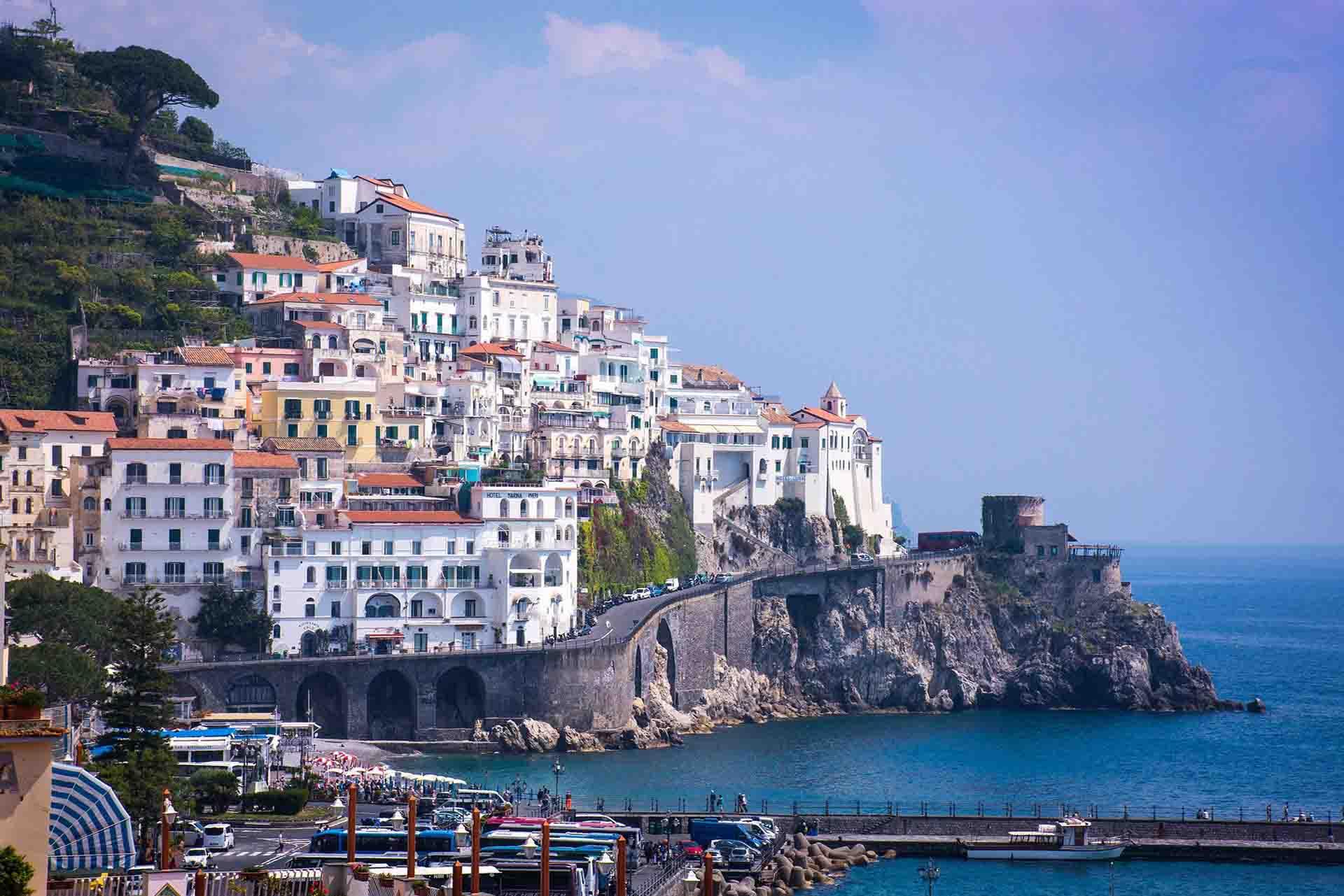 Cómo ir de Sorrento a Amalfi