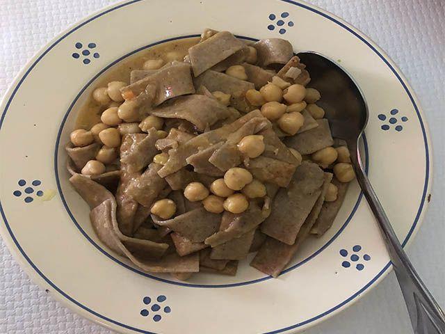 Ciceri e tria ¡un plato tradicional de la gastronomía de Puglia!