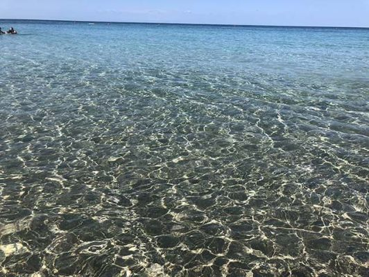 Que hacer en Gallipoli: relax en Baia verde