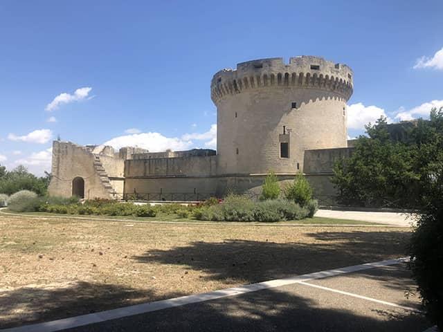Castillo Tramuntano de Matera