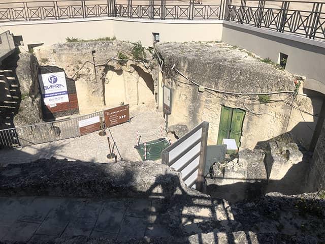 Que ver en Matera: Palombaro Lungo
