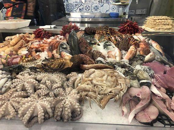 Que hacer en Gallipoli: pescaderias