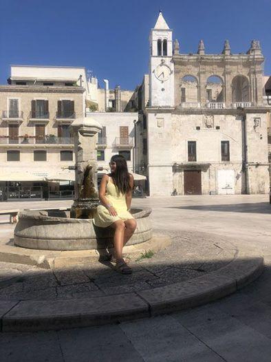 Ruta de Bari en dos días: Piazza del mercantile