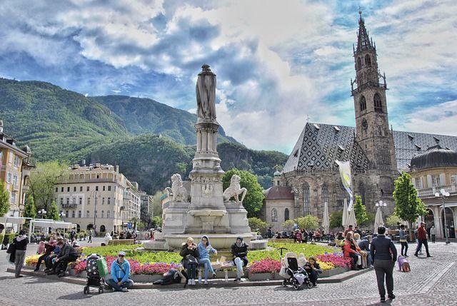 Italia en invierno: Bolzano