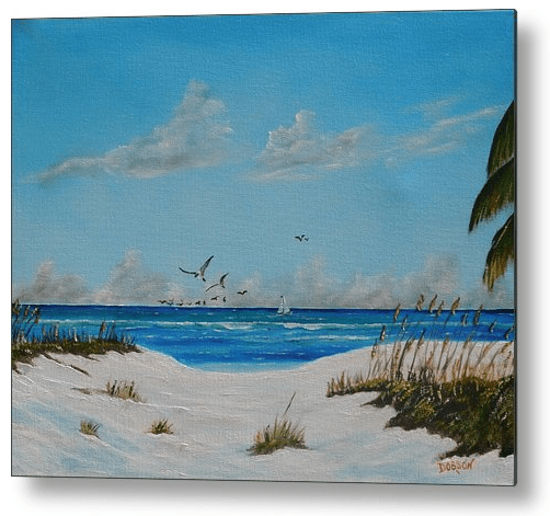 Coastal Beach Themed Metal Prints Lloyd Dobson Artist