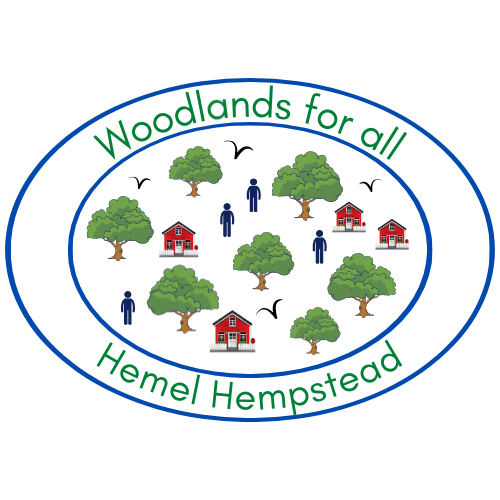 Woodlands for All logo