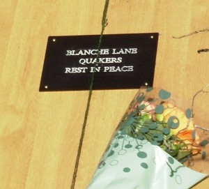 Blanche Lane Quakers Rest In Peace
