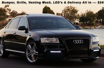 Audi Led Light Up Grill | Lamps and Lighting by IADPNET