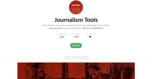 Journalism Tools en Medium