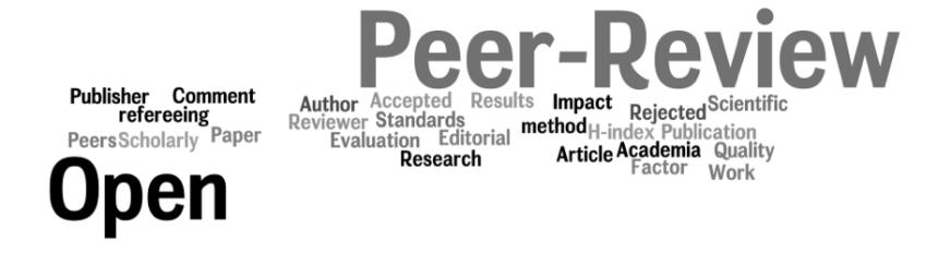 nube de tags open peer review