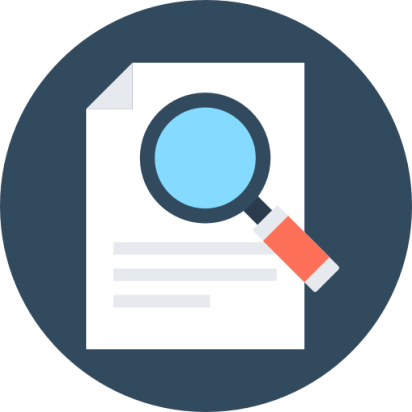 Icono de la búsqueda de documentos