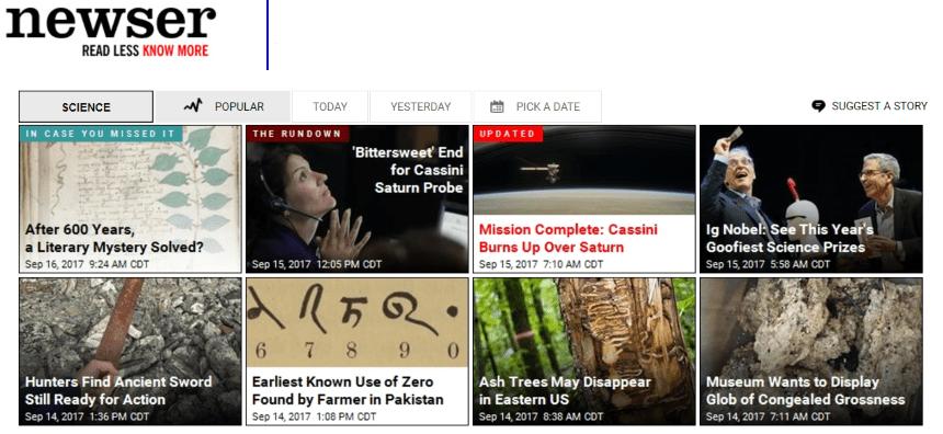 Neswer es una de las fuentes de información de prensa consideradas.