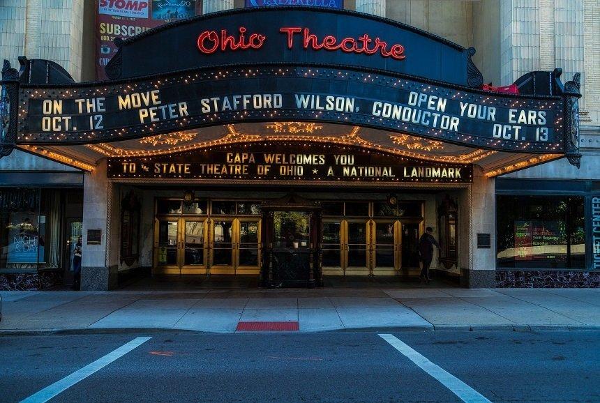 La recepción cinematográfica representada con una sala de cine