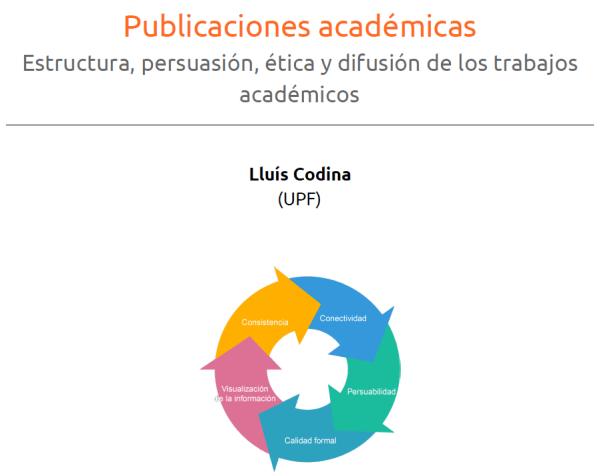 Cubierta del manual sobre publicaciones académicas
