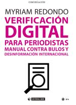 Verificación digital para periodistas: manual contra bulos y desinformación internacional [reseña]