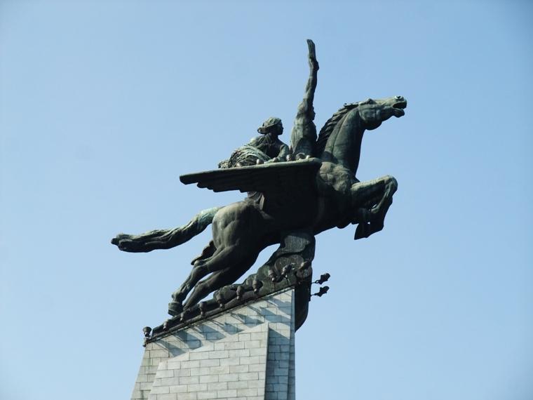 Mansudae Monuments Pyongyang Democratic People S