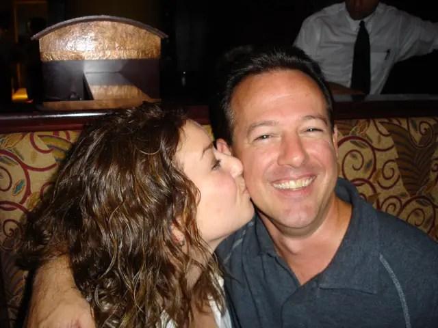 """""""kissing Jim Ward"""""""