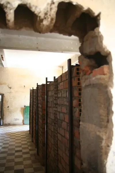 Classrooms turned Cellblocks