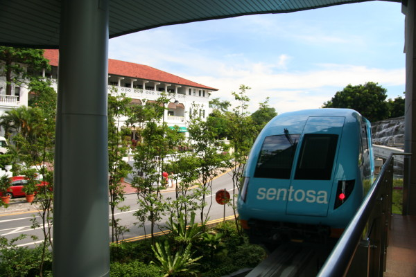 Monorail to Sentosa
