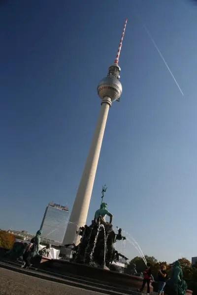 TV Tower of Alexanderplatz